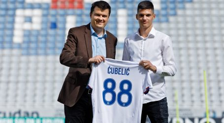 Ćubelić produžio vjernost Hajduku do ljeta 2026. godine