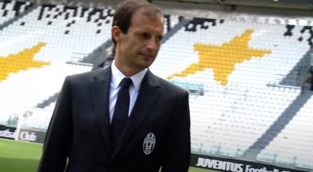 Allegri umjesto Pirla na klupi Juventusa