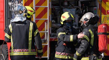 Požar u Novom Zagrebu, vatrogasci ga brzo stavili pod kontrolu