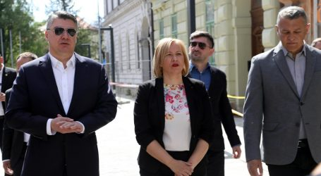 """Milanović izbjegao poziv SDP-ove Ikić Baniček da """"potkači"""" HDZ-ovu vladu"""