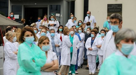 Zaposlenici Klinike za tumore prosvjedovali protiv Dijane Zadravec