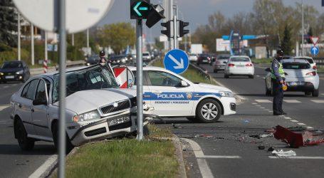 U Zagrebu se sudarili Octavia i vozač Nikola Tesla EV Rallyja, ima ozlijeđenih