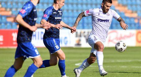 Hajduk pogotkom Livaje slavio u Varaždinu