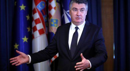 """Milanović o današnjem sastanku Vijeća za obranu: """"Bilo je jasno i kratko i dobro smo se razumjeli"""""""