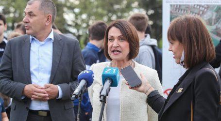 """Kandidatkinja za gradonačelnicu Zagreba Pavičić Vukičević: """"Ne pristajem na rat anketa"""""""