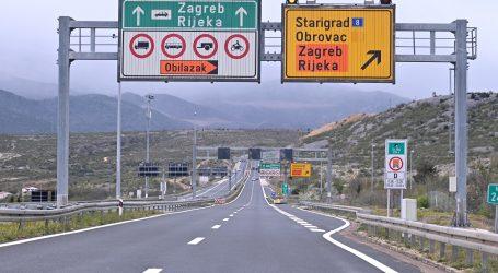 HAK: Zbog jakog vjetra na Jadranskoj magistrali zabrana za 1. skupinu vozila