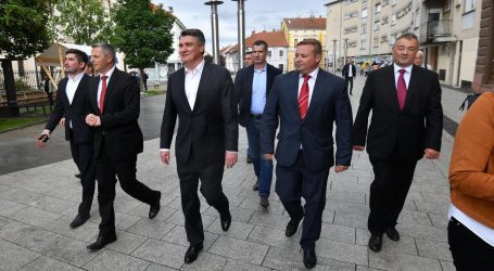 Predsjednik Milanović obišao gospodarsku zonu u Čakovcu