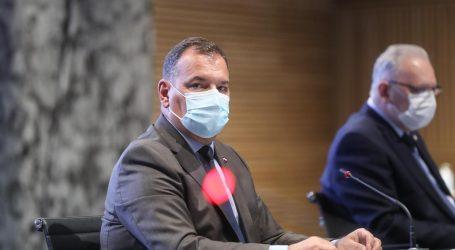"""Ministar Beroš na konferenciji Stožera: """"Imamo pad novooboljelih od 36 posto na tjednoj bazi"""""""