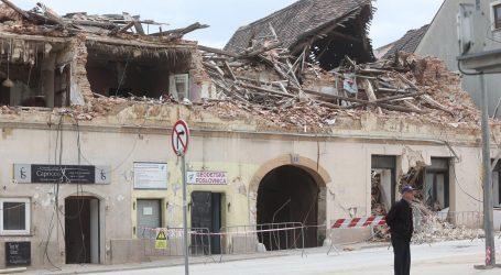 Kod Petrinje u petak ujutro slab potres magnitude 2,4