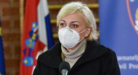 Marija Bubaš: 'Platforma funkcionira, vratimo fokus na cijepljenje. Sve prijavljene cijepit ćemo dok trepneš okom'
