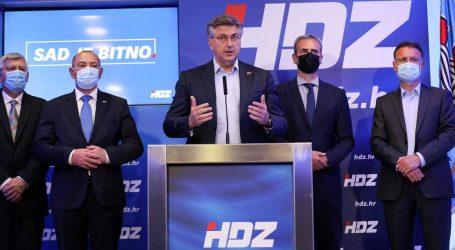 """Andrej Plenković: """"Naš ukupni rezultat je jako dobar, pobjednički – kao što smo očekivali"""""""