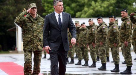 """Predsjednik Milanović: """"Naše Oružane snage nisu velike ali su kvalitetne, dobro obučene i dobro motivirane"""""""