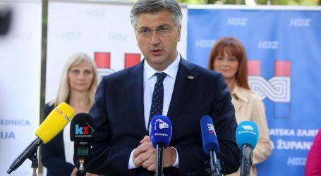 """Plenković u Gospiću: """"Vjerujem da će Petry pokazati zašto treba biti novi ličko-senjski župan"""""""
