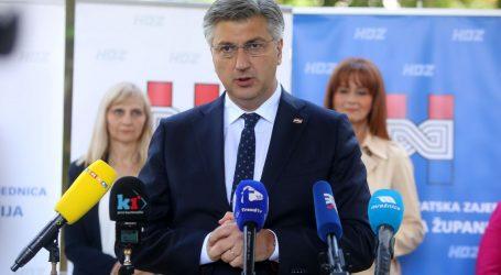 """Premijer Plenković na pitanje o odabiru francuskih aviona: """"To su tlapnje … Sve smo rekli u priopćenju"""""""