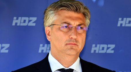 """Andrej Plenković: """"HDZ je apsolutni, kolosalni pobjednik ovih izbora"""""""