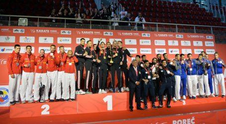 Europsko prvenstvo u karateu: Hrvatski karatisti osvojili ekipno zlato