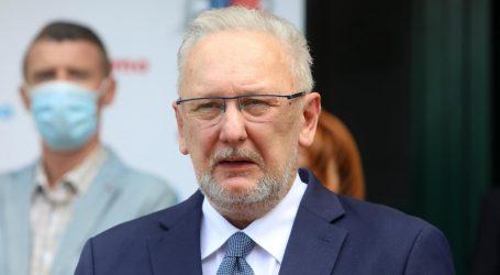 """Šef Stožera Božinović: """"Vjerujem da bi mjere mogle popustiti od petka"""""""