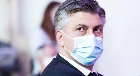 """Andrej Plenković: """"Pandemija će proći kad se svi procijepe"""""""