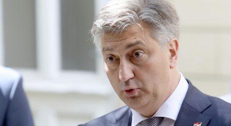 """Plenković: """"Ništa krivo o medijima nisam rekao, niste vi svete krave"""""""