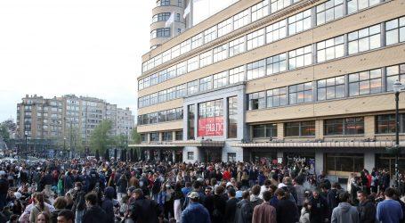 Tisuće mladih slavilo kraj policijskog sata u Bruxellesu