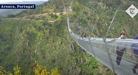 Portugal: Prijeći najdulji viseći pješački most je svakome izazov