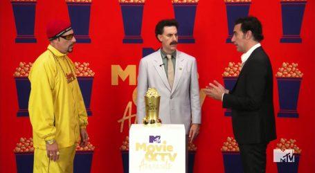 Sacha Baron Cohen osvojio MTV nagradu i urnebesno oživio likove koji su ga proslavili