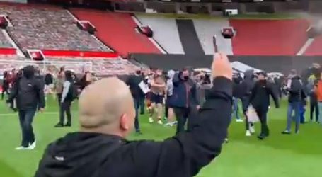 Navijači upali na Old Trafford: Odgođen derbi između Manchester Uniteda i Liverpoola