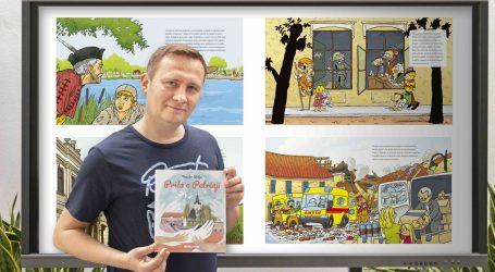 Humanitarni projekt: Objavljena 'Priča o Petrinji' Tomislava Škrljca, slikovnica o ranjenom gradu