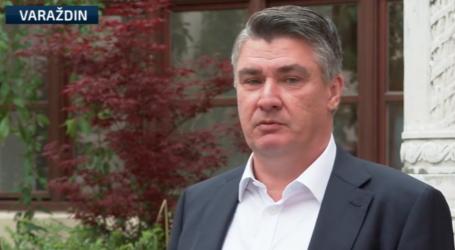 """Milanović o platformi Možemo: """"Neka se olako ne izvlače optužbe o inozemnom financiranju. Nisu oni zbrisali iz Hrvatske '91. godine"""""""