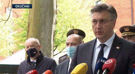 """Premijer Plenković na obljetnici Bljeska u Okučanima: """"Bitno je da smo danas svi tu"""""""