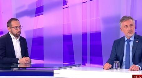 """Žestoko sučeljavanje Tomaševića i Škore u utrci za Zagreb: Tomašević: """"Ne znate nabrojati tri pročelnika"""", Škoro: """"Ne želim biti komunalni redar"""""""