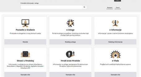 Vlada pokrenula modernizirani portal e-Građani