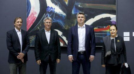 Izložba Ede Murtića otvorena u Meštrovićevom paviljonu: Publika može vidjeti cjelokupno stvaralaštvo