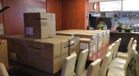 U zagrebačkom restoranu skladištio ukradene respiratore iz Švedske
