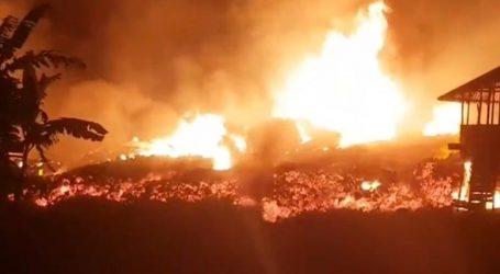 Eruptirao veliki vulkan u Kongu, grad se evakuira, lava stiže i do zračne luke