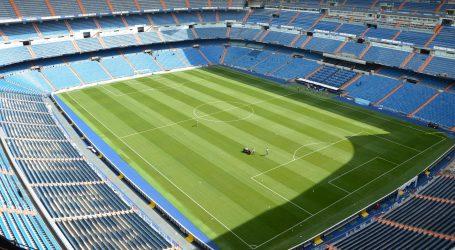 Izbio požar na stadionu Real Madrida