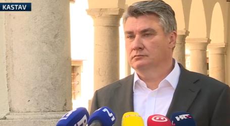 """Predsjednik Milanović o stanju u Vinogradskoj: """"Plenković je to mogao riješiti jednim pozivom"""""""