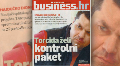 Naš Hajduk povećao vlasnički udio u Hajduku za 10.000 dionica