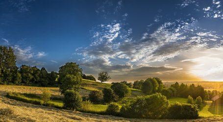 DHMZ: U petak pretežno sunčano, popodne u unutrašnjosti naoblaka