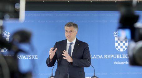 """Premijer Plenković: """"Vlada ima puno pravo komentirati apsolutno sve teme, pa i kandidate za šefa Vrhovnog suda"""""""