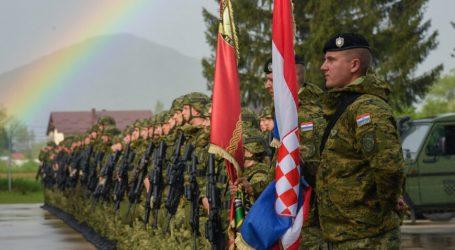 Svečani ispraćaj hrvatskih vojnika u NATO operaciju KFOR u Republiku Kosovo