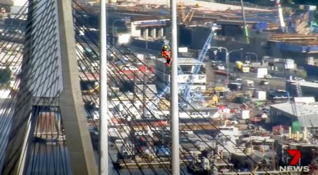 Pogledajte kako se radi na vrhu nebodera u Sydneyu