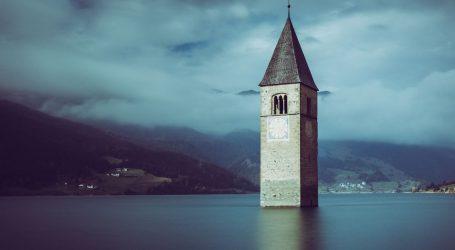 Izgubljeno talijansko selo 'isplivalo' nakon desetljeća ispod vode