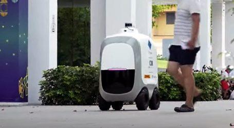 U Singapuru testiraju autonomne robote za dostavu iz trgovina