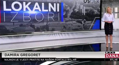RTL: Zadnja anketa prije drugog kruga izbora u Osijeku. Radić vodi pred Mlinarevićem, ali je puno neodlučnih