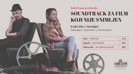 Uskoro premijere radio-predstave 'Soundtrack za film koji nije snimljen'