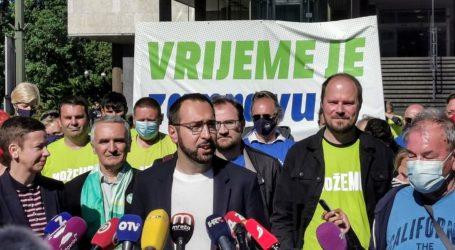 """Tomašević: """"Obećali smo pozitivnu kampanju. Pobijedit ćemo uzdignute glave i svakome ćemo moći pogledati u oči"""""""
