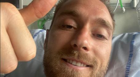 "Eriksen se obratio javnosti: ""Hvala vam za sve poruke podrške"""