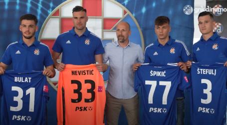 Dinamo predstavio pojačanja, s momčadi trenira i Duje Čop