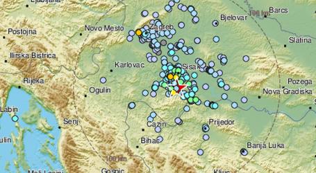 U noći još jedan umjeren potres kod Petrinje